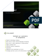 ITELLIGENT - Corporate Presentatión 2015-English