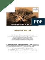 Calendario Del Alma 2014