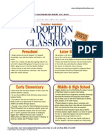 Adoption in Classroom