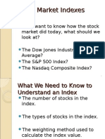 Stock Market Indexes 2010