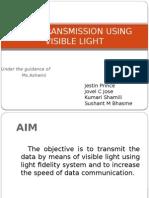 Data Transmission Using Visible Light3