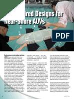 Bio-Inspired Designs for Near-Shore AUVs - Spectra 2014