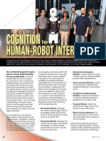 Cognition for Human Robot Interaction - Spectra 2014