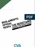 REGLAMENTO OFICIAL VESPA THE RESISTANCE