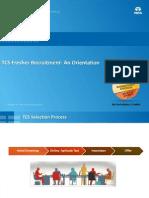 TCS Fresher Recruitment-An Orientation - Final FY15 2