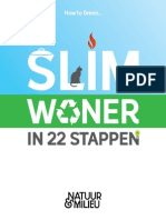 Slimwoner in 22 Stappen