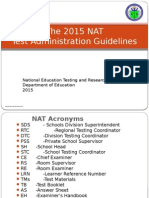 2015 Nat Test Admin Guidelines