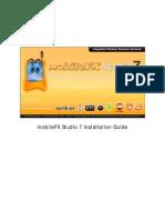 MobileFX Studio Installation Guide