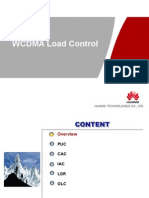 WCDMA Load Control