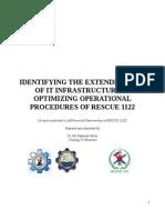 Rescue 1122 Report by Dr. Ali Hammad