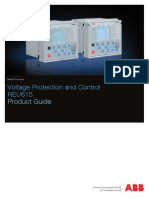 REU615 Product Guide