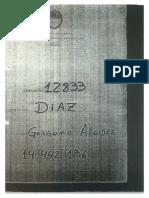 El legajo de Alcides Díaz Gorgonio, el prefecto del robo a la casa de Massa, confirma que trabajó en inteligencia