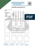 Formulir Pendaftaran Lpsa 2014