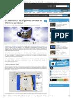 20 Alternativas de Programas Famosos Do Windows Para Linux - Linux