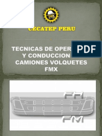 4 Curso Tecnicas de Operacion y Conduccion en Camiones Volquetes Fmx