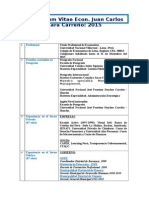 Curriculum Vitae Jclc Final 2015 (1)