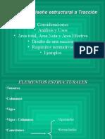 3.- Análisis y Diseño de Miembros a Tensión
