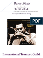 To Kill a Brick - Woody Shaw (M Printup)