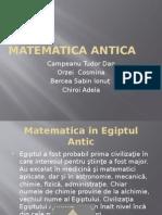 Matematica Antica