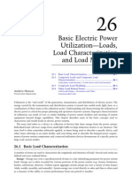 Basic Electric Power Utilization—Loads, Load Characterization And