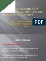Fracturi Humerus