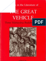 Studies in the Literature of the the Great Vehicle - Three Mahayana Buddhist Texts