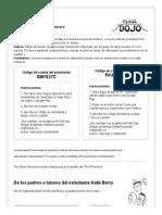 Demo Class - Parent Student Codes