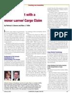 Carmack Amendments Cargo Claims