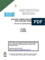 Crane Convection Heater Manual