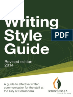 Writing Style Guide 2014 Revised Edition FINAL Online Version as at 26 November 2014 %282%29