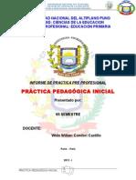 INFORME DE PRACTICA SETIMO SEMESTRE