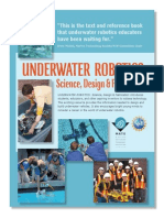 Underwater Rootics - ROV Book Flyer