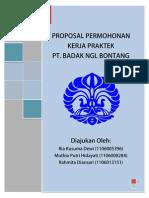 Proposal Kerja Praktek PT. Badak NGL Bontang