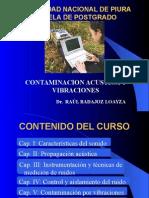 CapituCONTAMINACION ACUSTICA Y VIBRACIONESlo Uno 2011-Ruidos