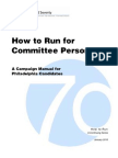 Committee Person Manual 2010