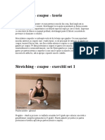 Stretching - Coapse - Teorie