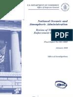 IG's Report on NOAA law enforcement