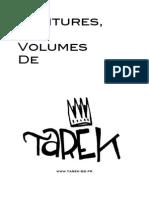 Dossier peintures et volumes de Tarek