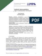 Tradução intersemiótica ação do signo e estruturalismo hierárquico
