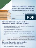 Guia Zotero UNE-ISO 690:2013 sistema Harvard o autor-fecha