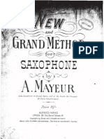New and Grand Method for Saxophone