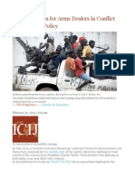 Bank's Services for Arms Dealers in Conflict With Its Own Policy