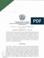 Providencia Administrativa Nº 35-2015 - Adecuación de Precios Justos - Harina de Maíz Precocida_1