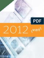 The Vizrt Catalogue 2012 LR | Computer Graphics | Digital & Social Media