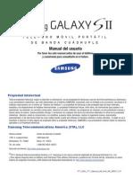 ATT SGH-i777 GalaxyII Spanish User Manual