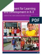 DPI Early Childhood Think Tank KEA
