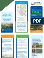 Small Grants Brochure Ms d