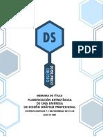 planeación estratégica de una empresa de diseño grafico