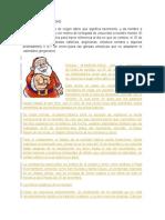 DEFINICIÓN DE NAVIDAD