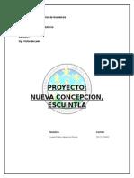 PROYECTO Nueva concepcion, Escuintla1.docx